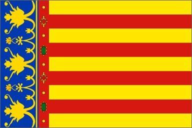 Resultado de imagen para bandera comunidad valenciana
