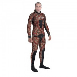 TRAJE FIRE RED CAMO 3MM SPETTON