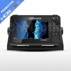 SONDA GPS HDS-7 LIVE LOWRANCE