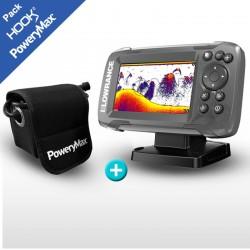 SONDA GPS HOOK2-4X LOWRANCE CON POWERY MAX PX5