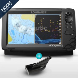 SONDA GPS HOOK REVEAL 9 LOWRANCE